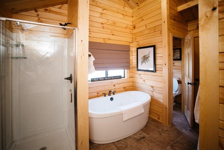 Cabin #14 Shower