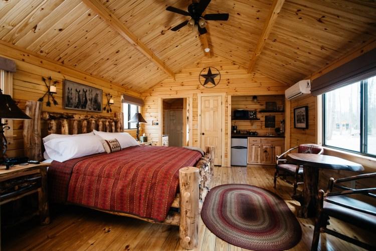 Cabin #4 Main Cabin Space