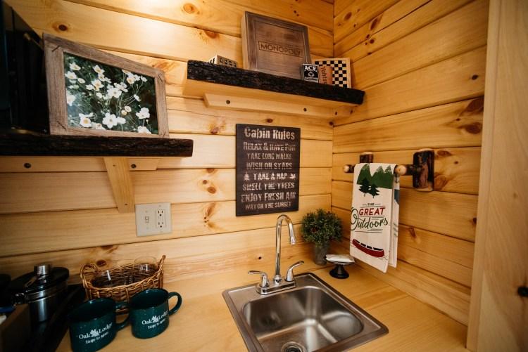 Cabin #4 Kitchenette