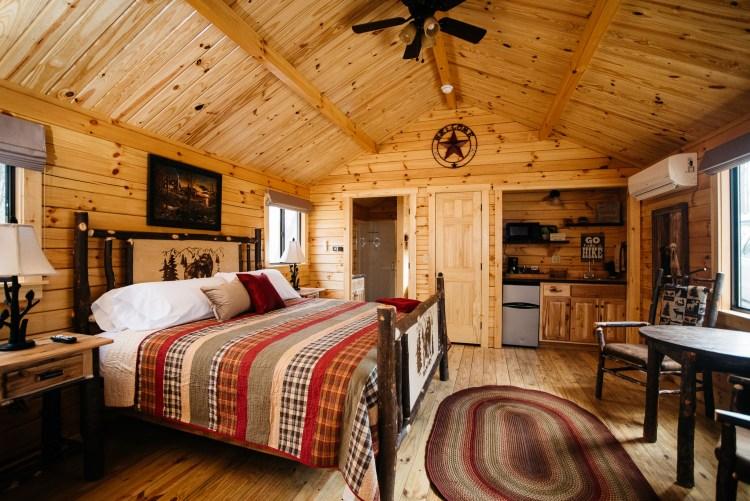 Cabin #5 Main Cabin Space