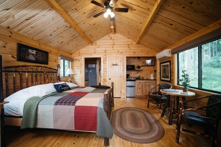 Cabin #16 Main Cabin Space
