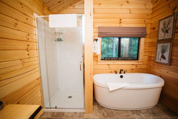 Cabin #16 Shower