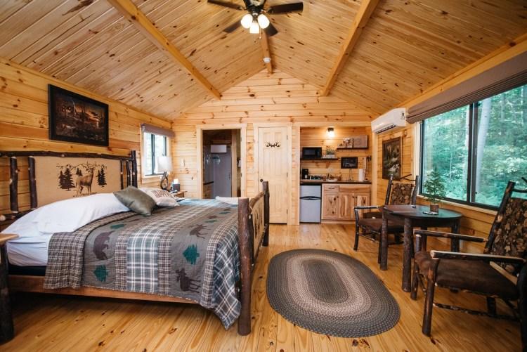 Cabin #15 Main Cabin Space