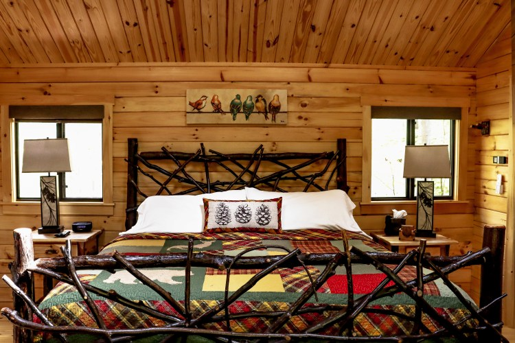 Cabin #11 Bed View