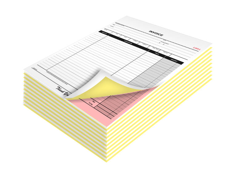 Carbonless Form Printing San Jose Sunnyvale Ca Oakmead Printing - Carbonless invoices