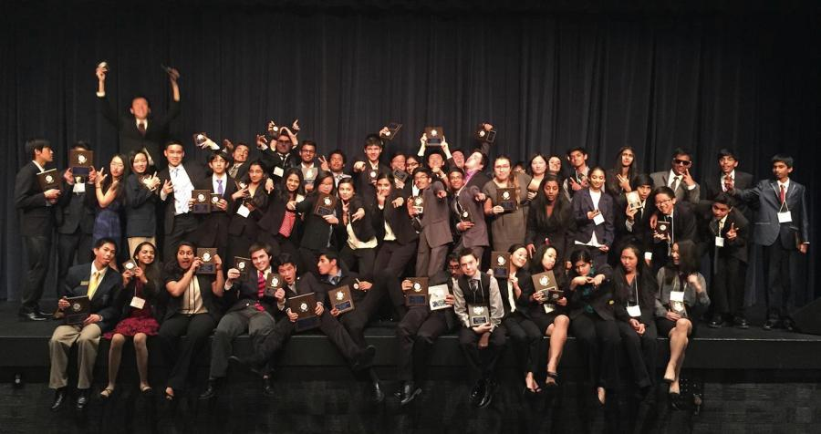 Oak Park FBLA was able to win their regional competition for the first time in four years (Photo Courtesy pf Alex Pai).