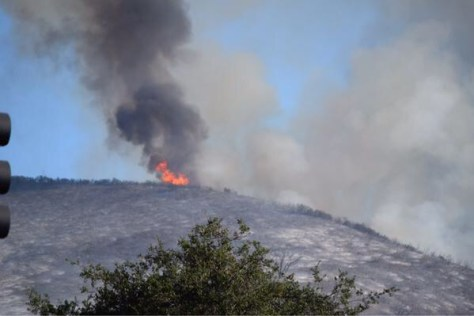 Monday: Brush fire and Teen Choice Awards