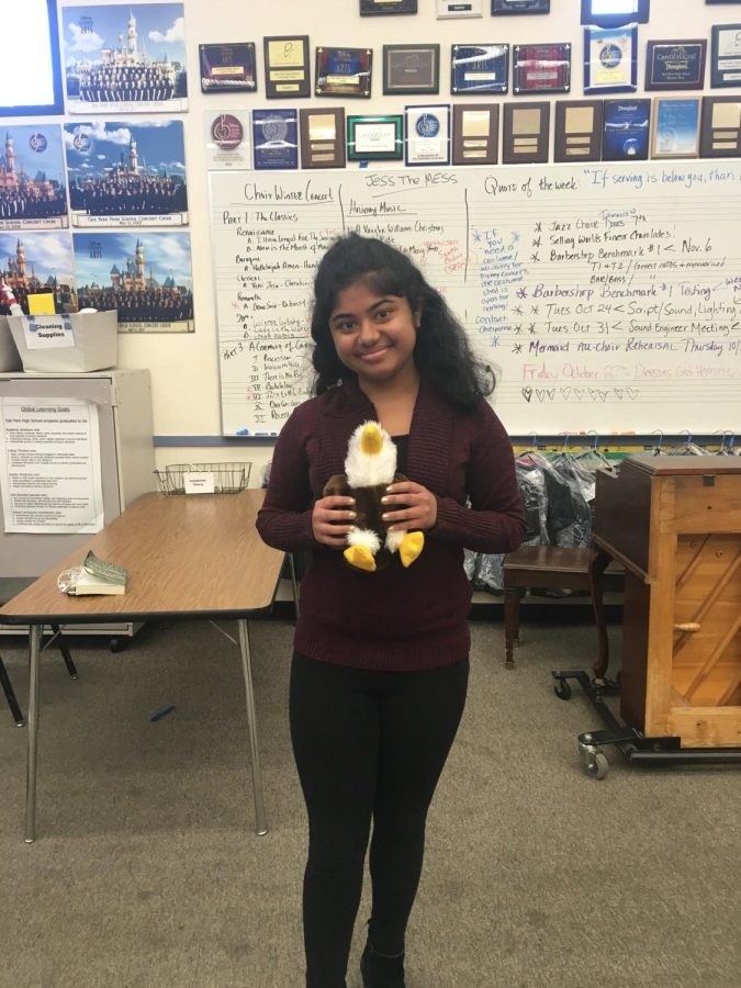 ASB holds first Bennie the Eagle event
