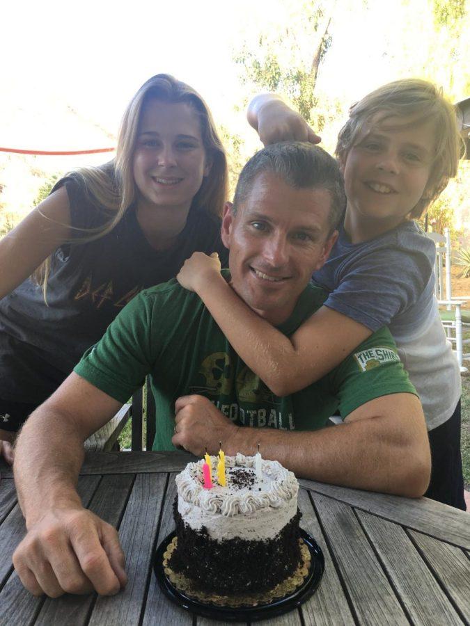 Chris Dotson and his kids