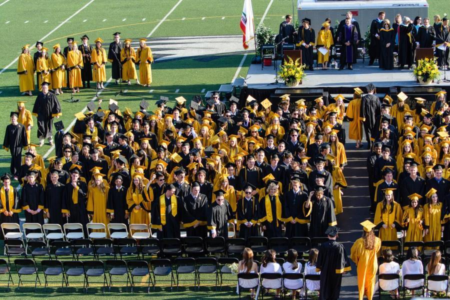The class of 2017 graduates