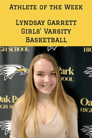 Athlete of the Week : Lindsay Garrett