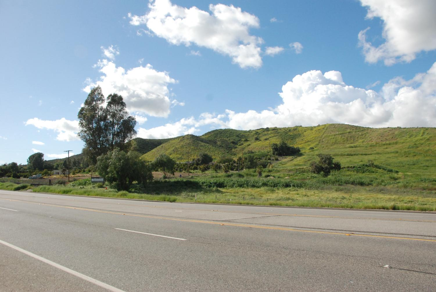 Hills pictured by Tierra Rejada Road in Simi Valley will be one of three potential wildlife corridor zones.
