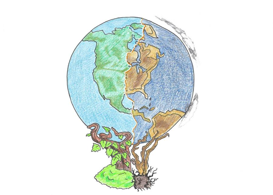 Climate+change%3A+permanent+effects+on+the+world