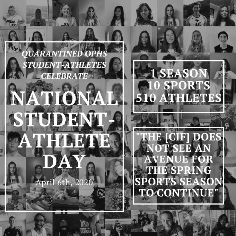 National Student-Athlete day is held on April 6, where athletes are recognized for their accomplishments.