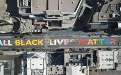 All Black Lives Matter street art