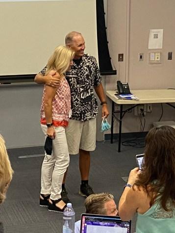 Rob Hall and Winnie Sloan reach 30 years at Oak Park High