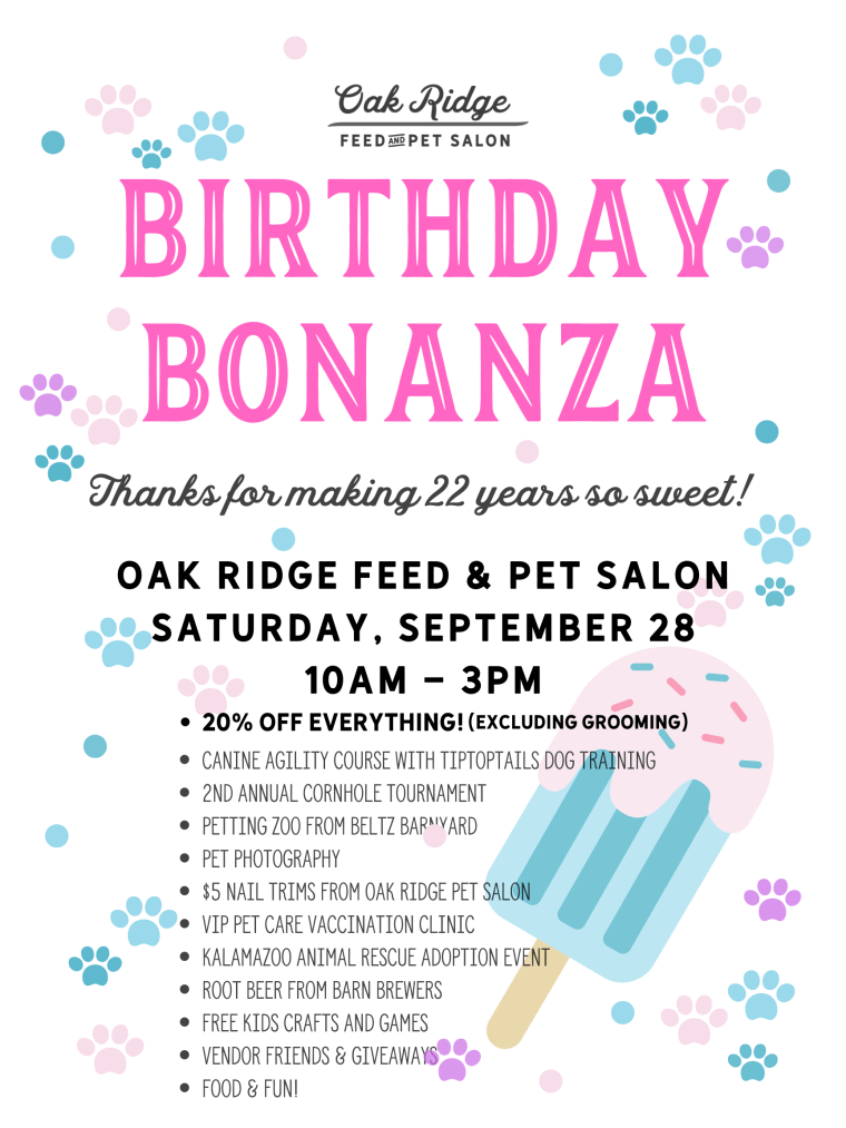 Birthday Bonanza 2019 Flyer