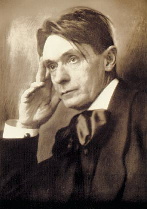 Rudolf Steiner photo modified