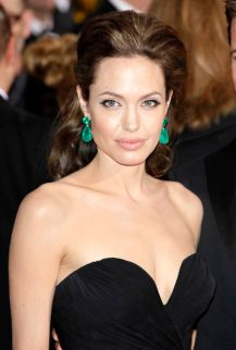 February 22, 2009: Angelina Jolie at The 81st Annual Academy Awards in Los Angeles, California. Credit: INFevents.com Ref.: infusla-64