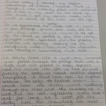 Year 5 Handwriting - 2