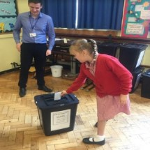 School Council Election Day 7