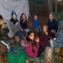 Going to Forest Club and Helping KS1 with their Learning - 2