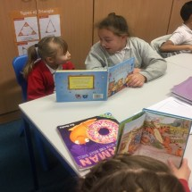 Reading with Year 5 - 2
