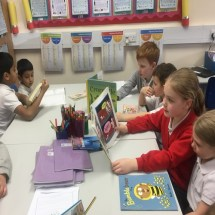 Reading with Year 5 - 3