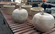 Apple Statuary and Planters - Spring 2017