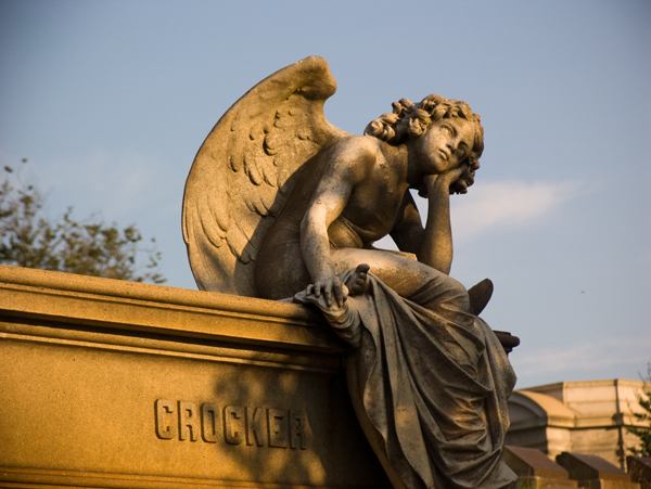 Mountain View Cemetery Angel