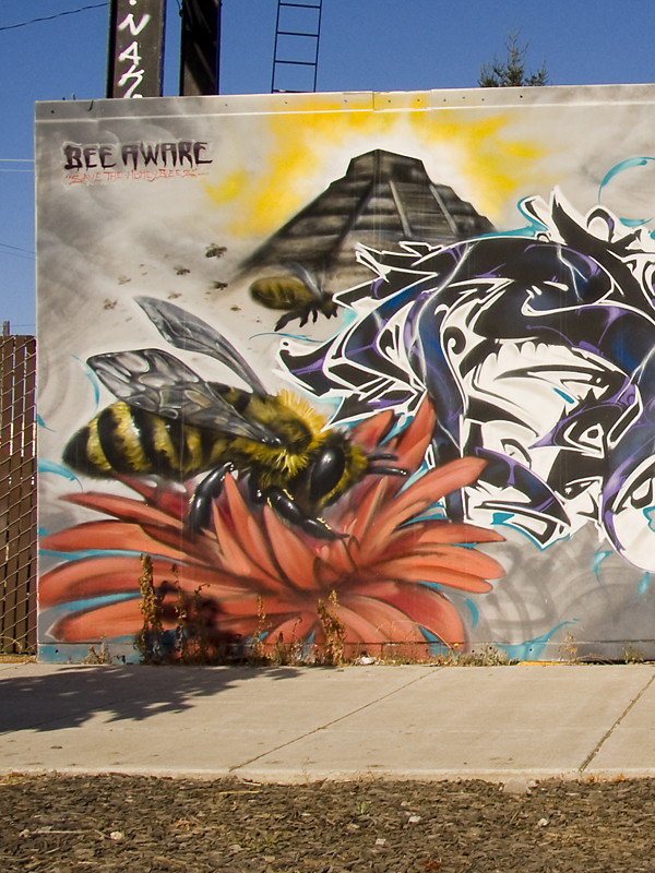 Bee Aware Mural