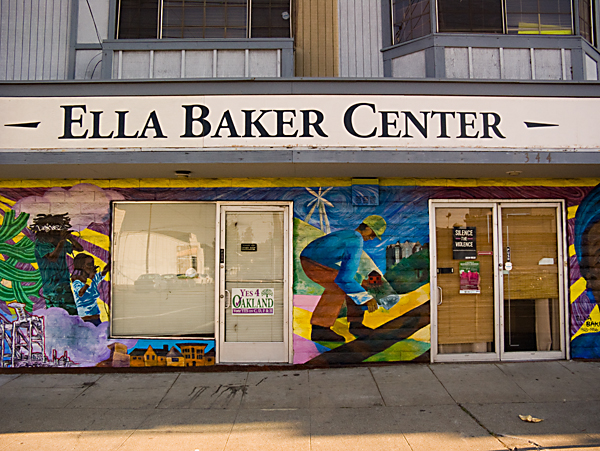 ella baker center building