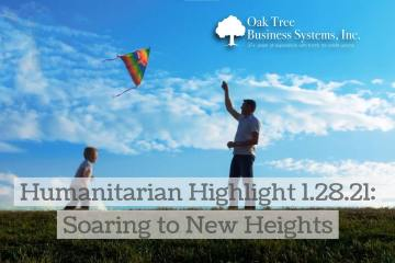 Humanitarian Highlight 1.28.21: Soaring to New Heights