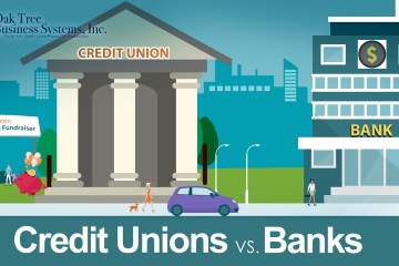 Credit Unions vs. Banks Infographic header