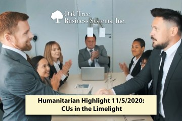 Humanitarian Highlight 11/5/2021: CUs in the Limelight