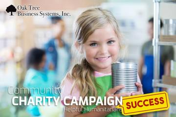 community charity campaign success