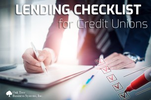 Lending Checklist for Credit Unions