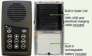 Solar Powered Audio Bible Image