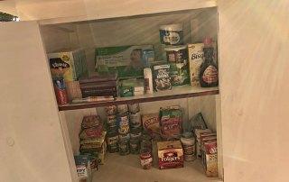 Blessing Box for Food at Oakwood United Methodist Church, Lubbock Texas