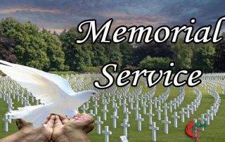Memorial Service, Spirit in Heaven