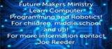 Future Makers Ministry, Oakwood United Methodist Church, Lubbock Texas