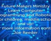 Future Makers Ministry, Computer Programming and Robotics, Oakwood UMC Lubbock Texas