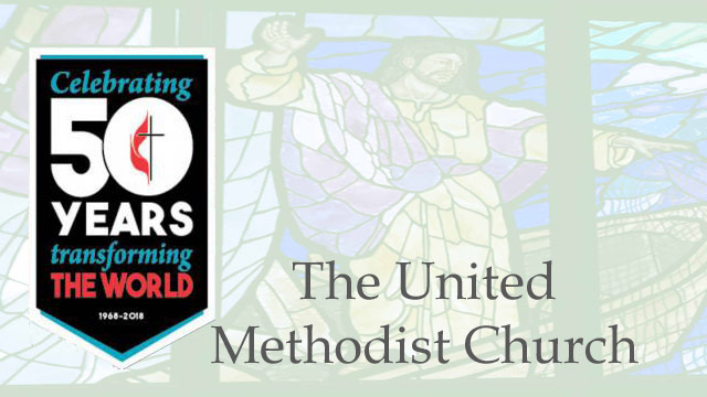 The United Methodist Church Celebrating 50 Year Anniversary, 1968-2018