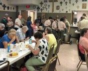 Boy Scouts Troop 157, Wednesday Night Dinner, Oakwood United Methodist Church, Lubbock Texas