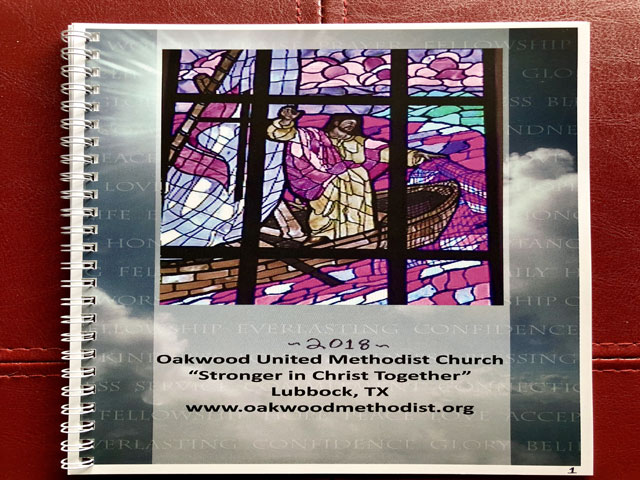 Photo Album 2018 | Oakwood United Methodist Church, Lubbock Texas | Stronger In Christ Together | http://OakwoodMethodist.org