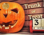 Halloween Trunk or Treat, Oakwood United Methodist Church, Lubbock Texas