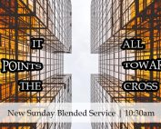 Blended Service, God's Hands and Feet | It All Points Toward The Cross | Oakwood United Methodist Church, Lubbock Texas