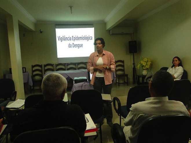 Gerentes de endemias realizam encontro para avaliar o controle da dengue no Acre