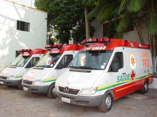 Samu do Acre recebe nove ambulâncias e duas caminhonetes do Ministério da Saúde