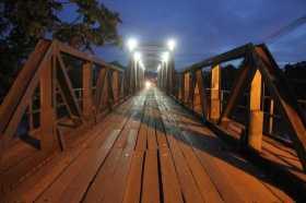 Ponte José Augusto foi inaugurada meados da década de 1980 e já não está dando conta do fluxo de veículos - Fotos: Alexandre Lima